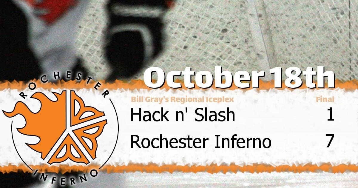 Inferno puts away Hack n' Slash