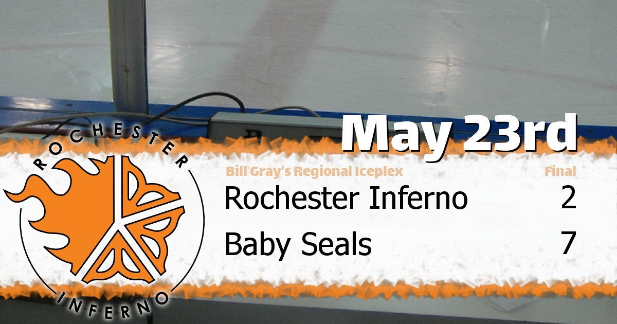 Seals over Inferno on Wednesday