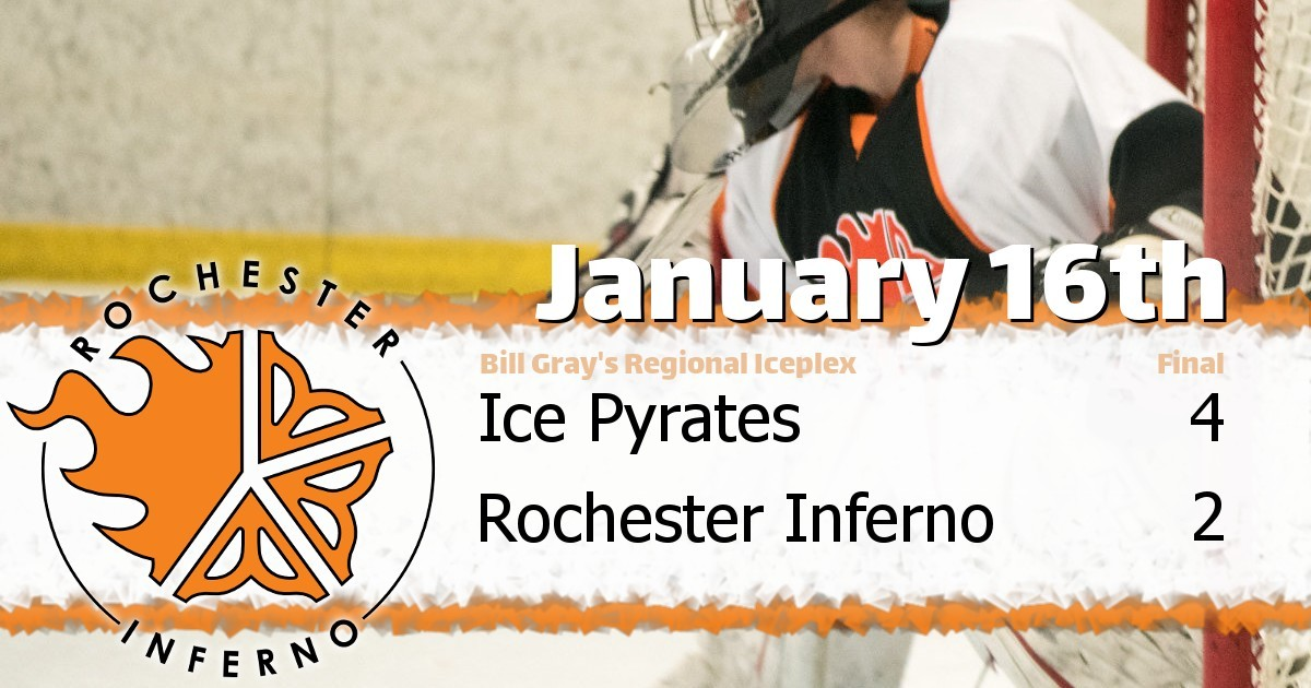 Pyrates over Inferno in 4-2 victory