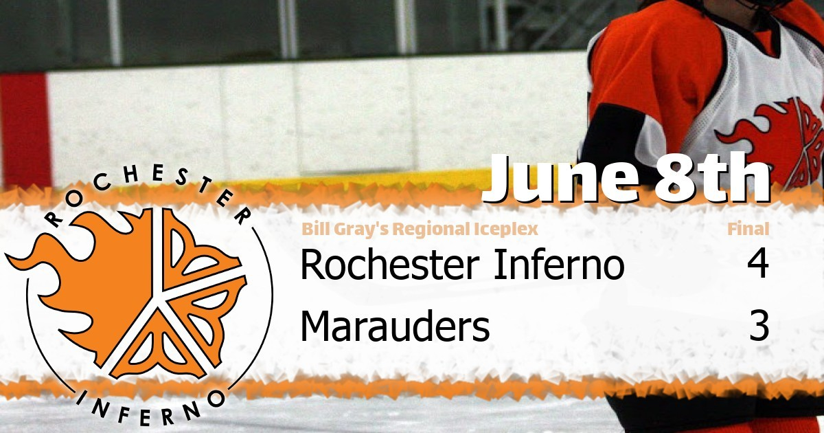Inferno and Marauders fight to 4-3 final